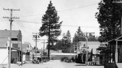 1926 view of Main St, Chiloquin