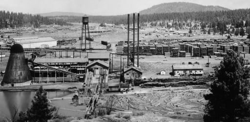 history: Chiloquin Blockinger Mill