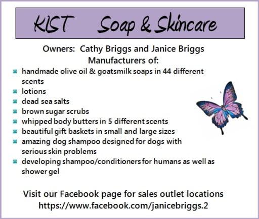 KIST soap and skincare