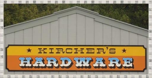 shop Kircher's Hardware, Chiloquin