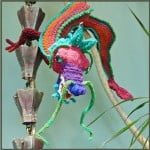 Charming Chinese Dragon by JoansGarden for Knitted creatures