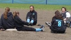Softball team at Chiloquin High School