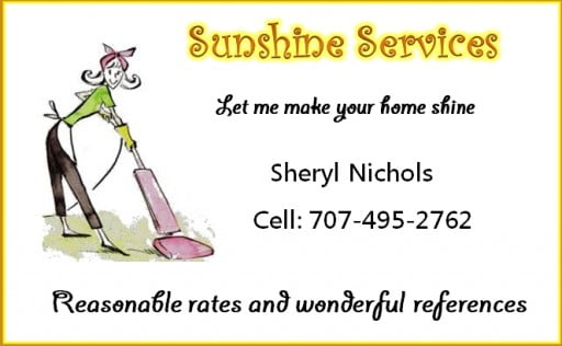 Sunshine Services home cleaning