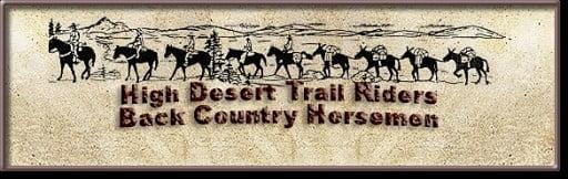 groups: High Desert Trail Riders