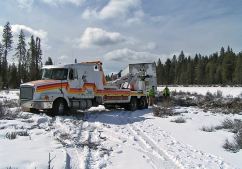 Chiloquin Towing: Aftermath of a white-out