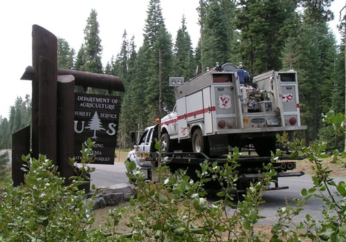 Chiloquin Towing: Wildland firefighters also need repairs