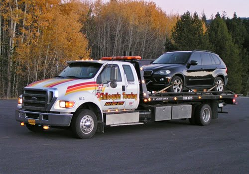 Chiloquin Towing: special handling for a BMW