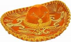 Orange sombrero for El Rodeo Restaurant Friday special