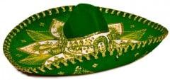 Green sombrero for El Rodeo restaurant near Chiloquin, serving breakfast.