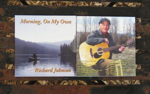 Richard Johnson Sings - Morning, On My Own album cover